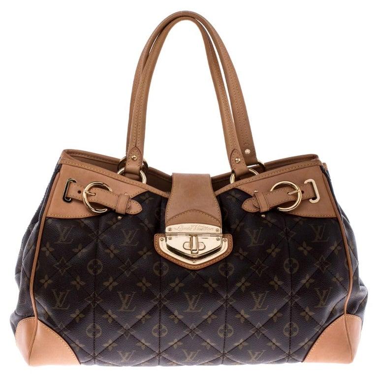 Louis Vuitton Monogram Canvas Etoile Shopper Bag For Sale