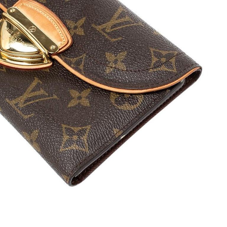 Louis Vuitton Monogram Canvas Eugenie Wallet 6