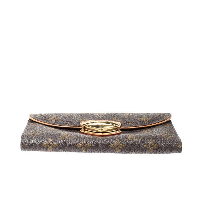 Louis Vuitton Monogram Canvas Eugenie Wallet In Good Condition In Dubai, Al Qouz 2
