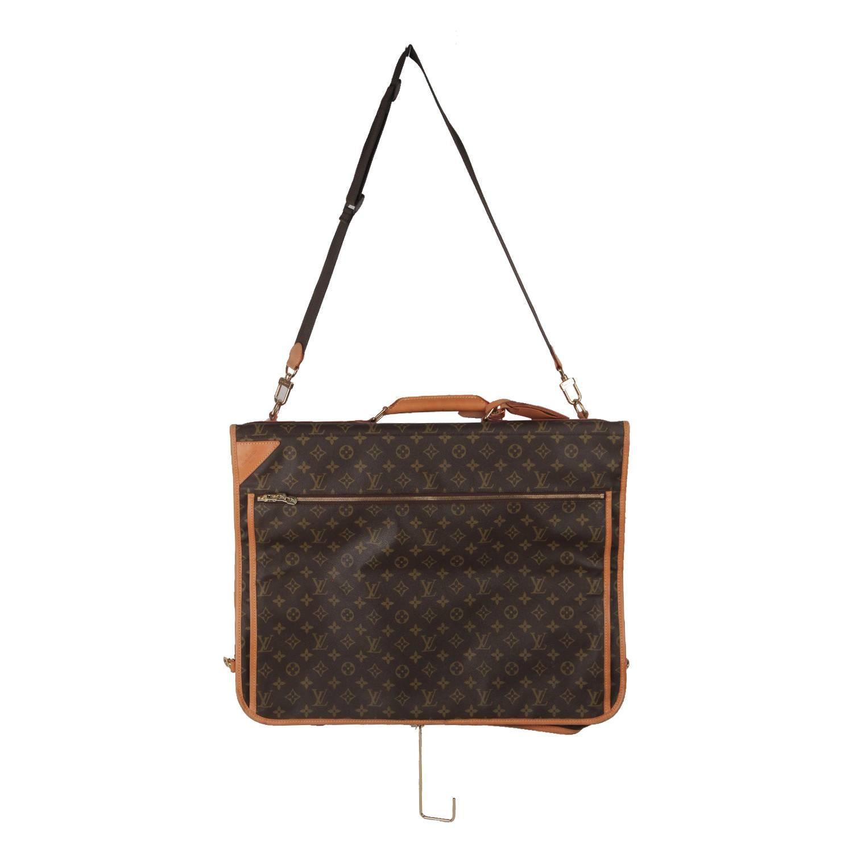 Louis Vuitton Monogram Canvas Garment Carrier Bag Travel Suit Cover ZYsmo