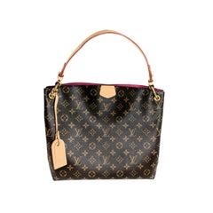 Louis Vuitton Monogram Canvas Graceful PM Hobo Bag