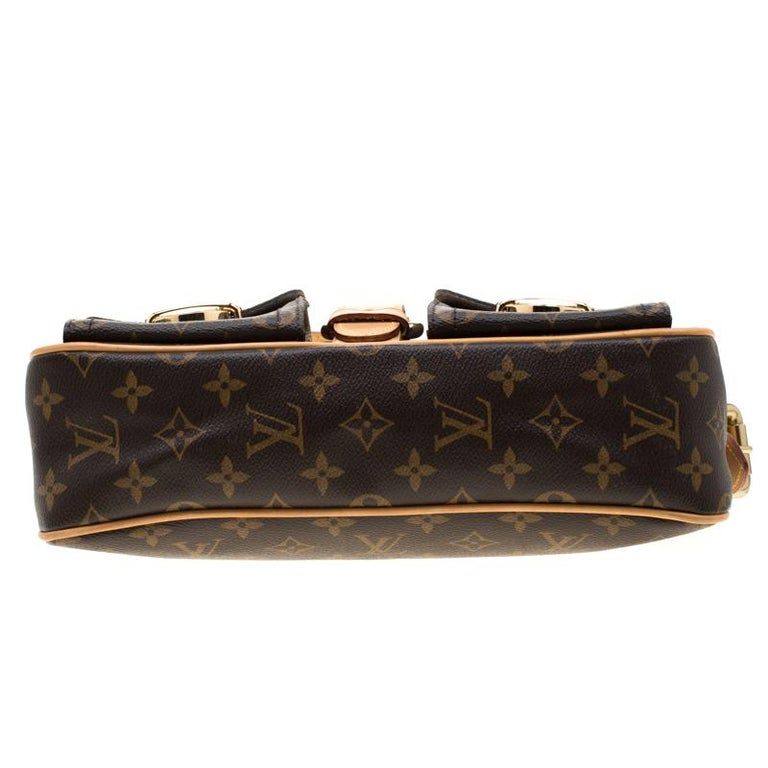 Louis Vuitton Monogram Canvas Hudson PM Bag For Sale 7