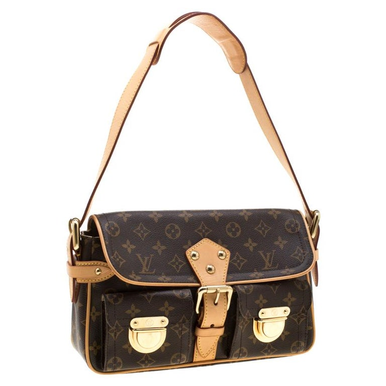 Louis Vuitton Monogram Canvas Hudson PM Bag For Sale 3