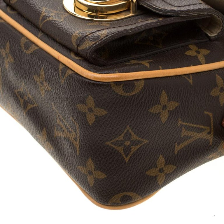 Louis Vuitton Monogram Canvas Hudson PM Bag For Sale 5