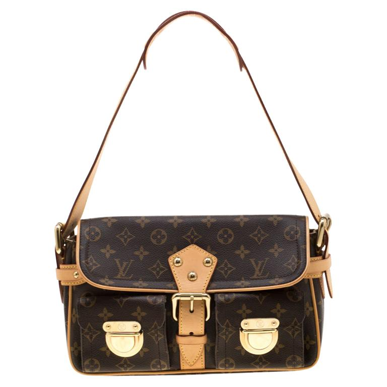 Louis Vuitton Monogram Canvas Hudson PM Bag For Sale