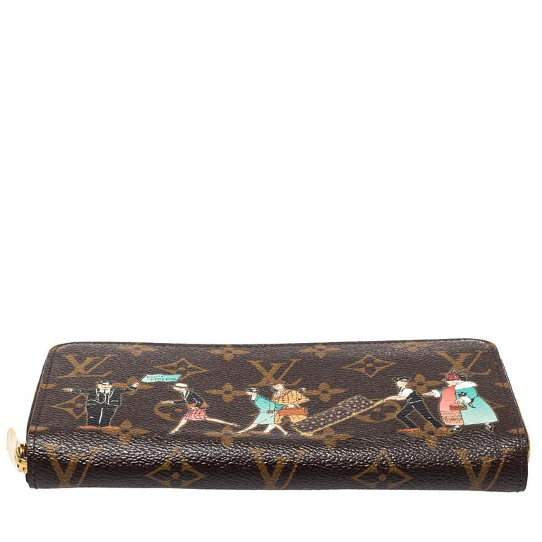 Louis Vuitton Monogram Canvas Illustre Zippy Wallet In Good Condition For Sale In Dubai, Al Qouz 2