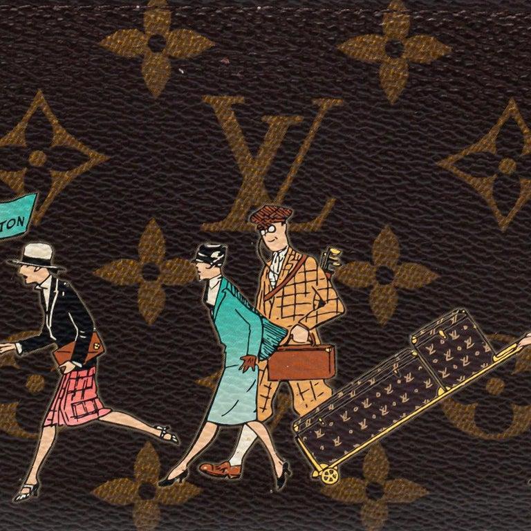 Louis Vuitton Monogram Canvas Illustre Zippy Wallet For Sale 1