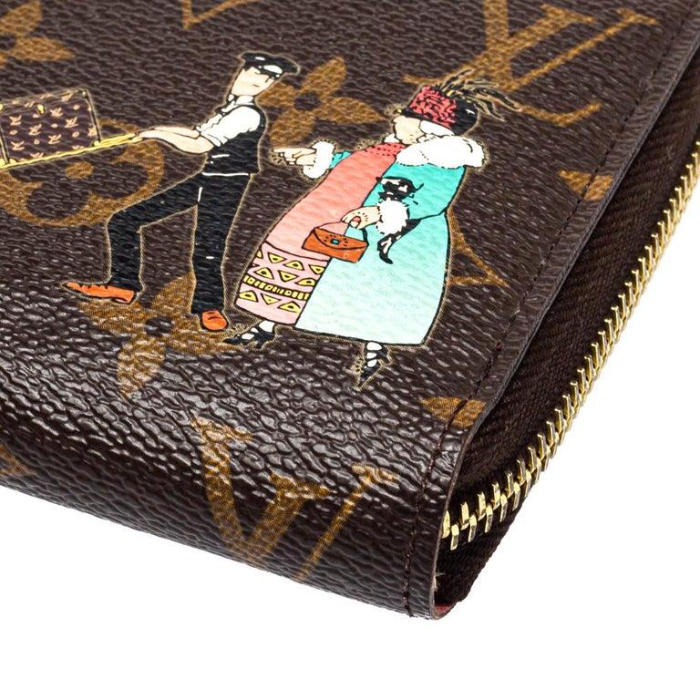 Louis Vuitton Monogram Canvas Illustre Zippy Wallet For Sale 2