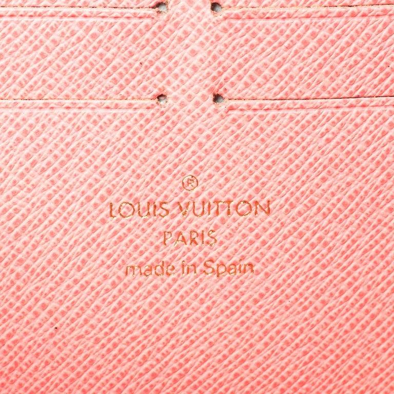 Louis Vuitton Monogram Canvas Illustre Zippy Wallet For Sale 3