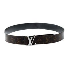 Louis Vuitton Monogram Canvas Initiales Belt 100cm