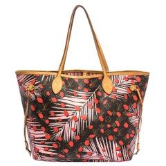 Louis Vuitton Monogram Canvas Jungle Dots Neverfull MM Bag