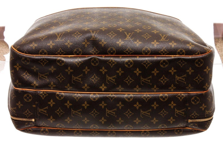 Louis Vuitton Monogram Canvas Leather Alize 2 Poches Luggage For Sale 3