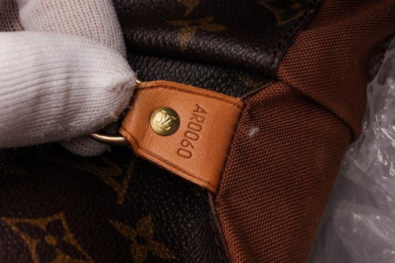 Louis Vuitton Monogram Canvas Leather Cabas Alto Shoulder Bag In Good Condition For Sale In Irvine, CA