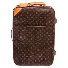 Louis Vuitton Monogram Canvas Leather Pegase 50 cm Luggage