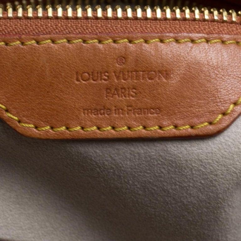 Louis Vuitton Monogram Canvas Limited Edition Dentelle Fersen GM Bag For Sale 4