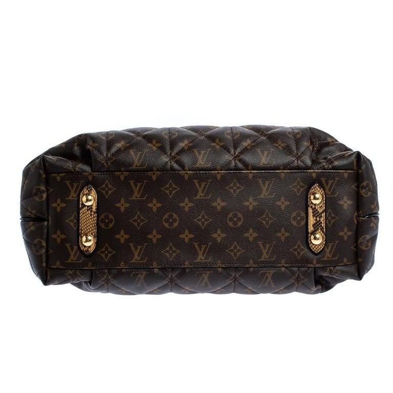 Women's Louis Vuitton Monogram Canvas Limited Edition Etoile Exotique GM Bag For Sale