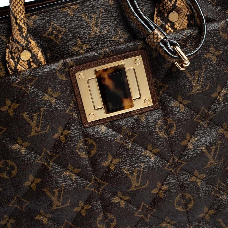 Louis Vuitton Monogram Canvas Limited Edition Etoile Exotique GM Bag For Sale 2