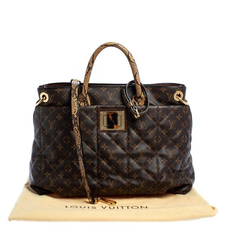 Louis Vuitton Monogram Canvas Limited Edition Etoile Exotique GM Bag For Sale 3