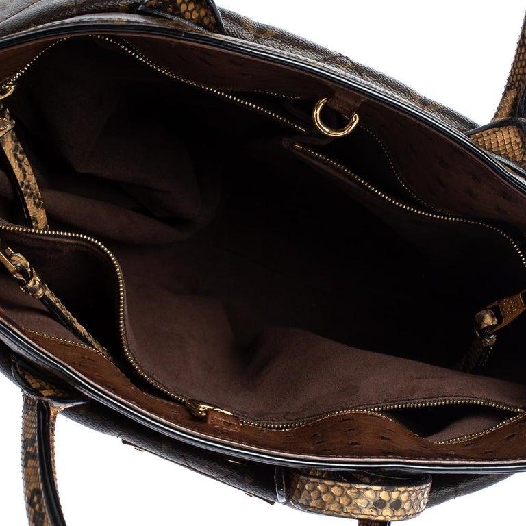 Louis Vuitton Monogram Canvas Limited Edition Etoile Exotique GM Bag For Sale 4