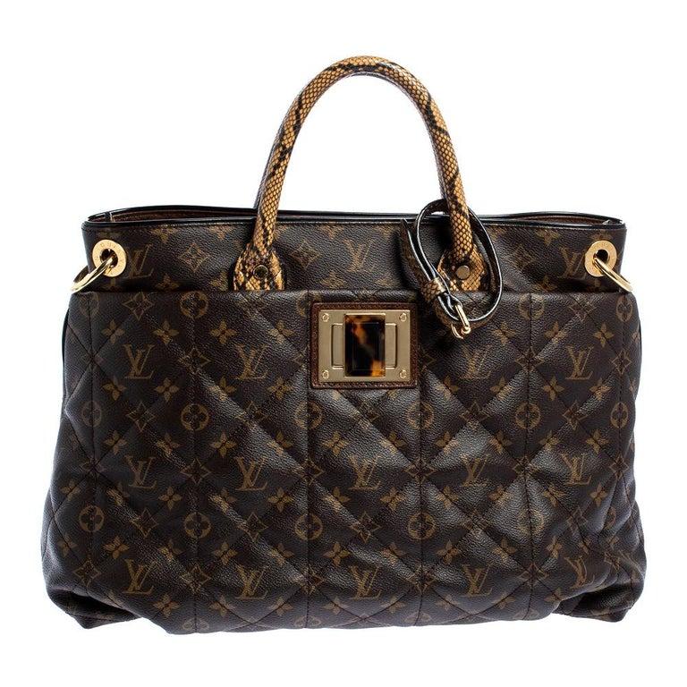 Louis Vuitton Monogram Canvas Limited Edition Etoile Exotique GM Bag For Sale