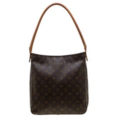 Louis Vuitton Monogram Canvas Looping MM Tote Bag