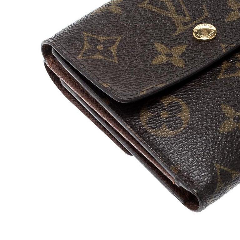 Louis Vuitton Monogram Canvas Ludlow Wallet For Sale 5