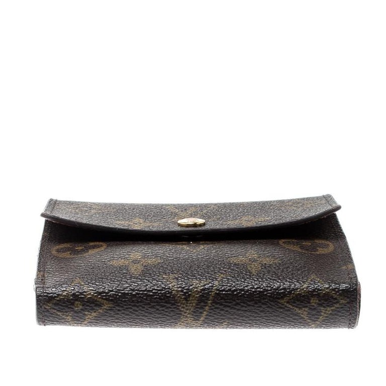 Louis Vuitton Monogram Canvas Ludlow Wallet In Good Condition For Sale In Dubai, Al Qouz 2