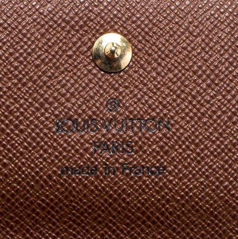 Louis Vuitton Monogram Canvas Ludlow Wallet For Sale 1