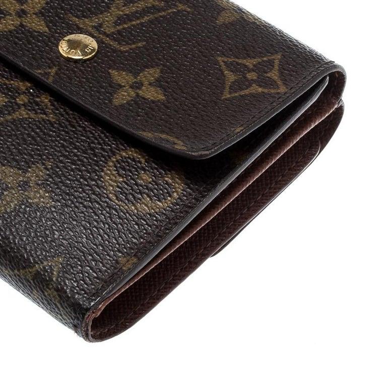 Louis Vuitton Monogram Canvas Ludlow Wallet For Sale 4