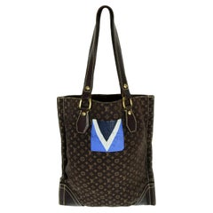 a9c67ef09 Louis Vuitton Monogram Canvas Mini Lin Tanger Tote rt $1,350