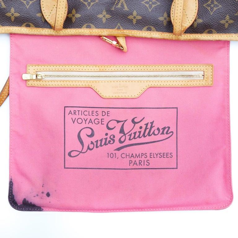Louis Vuitton Monogram Canvas Neverfull GM Murakami MOCA Hands Bag 2008 For Sale 1