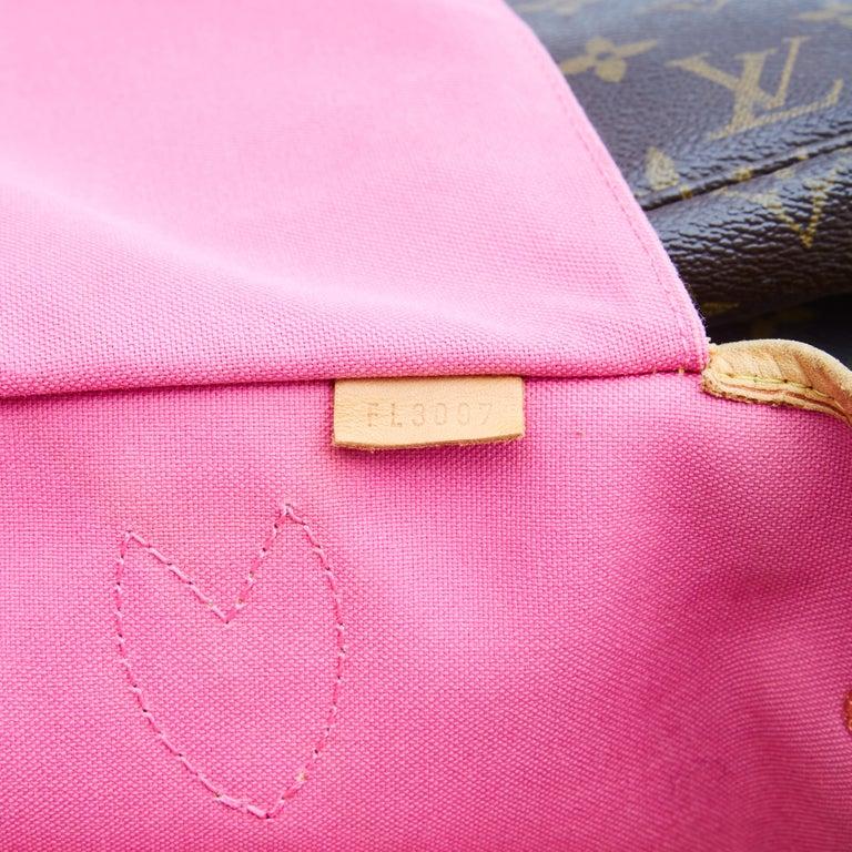 Louis Vuitton Monogram Canvas Neverfull GM Murakami MOCA Hands Bag 2008 For Sale 2
