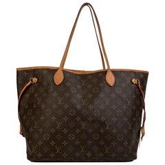Louis Vuitton Monogram Canvas Neverfull GM Tote Shopping Bag