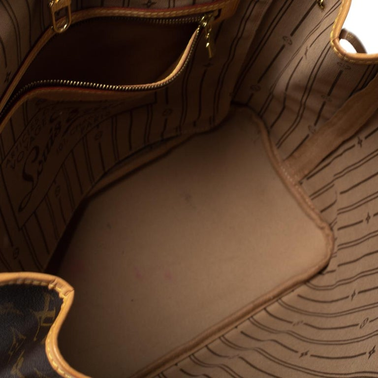 Louis Vuitton Monogram Canvas Neverfull MM Bag 5