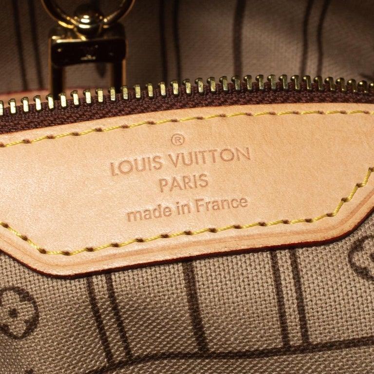 Louis Vuitton Monogram Canvas Neverfull MM Bag 6