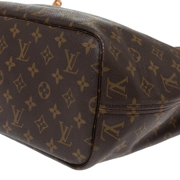 Louis Vuitton Monogram Canvas Neverfull MM Bag 3