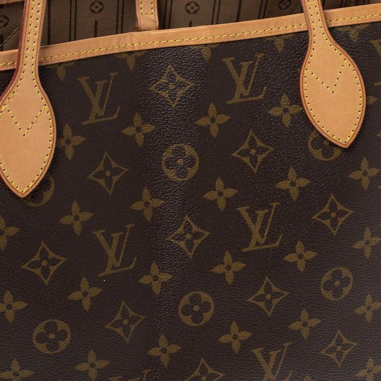 Louis Vuitton Monogram Canvas Neverfull MM Bag 4