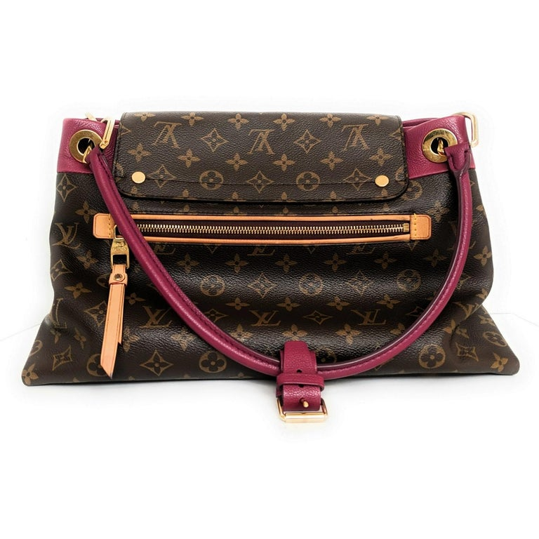 A newer creation from Louis Vuitton, the Olympe is a refined and sophisticated tote that will be treasured for years to come. Taking inspiration from Louis Vuitton luxurious heritage, the Olympe is a blend of the iconic Monogram canvas and supple