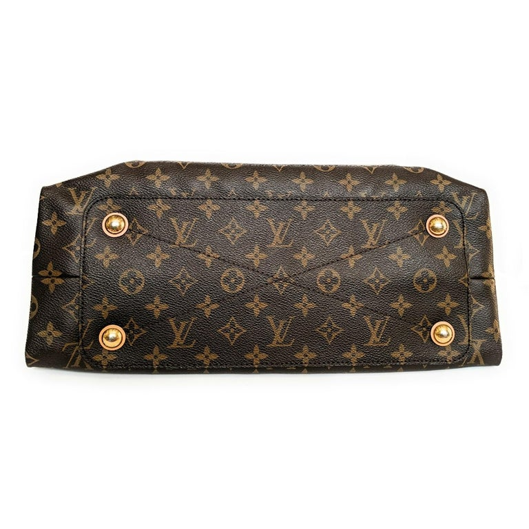 Black Louis Vuitton Monogram Canvas Olympe MM Tote For Sale