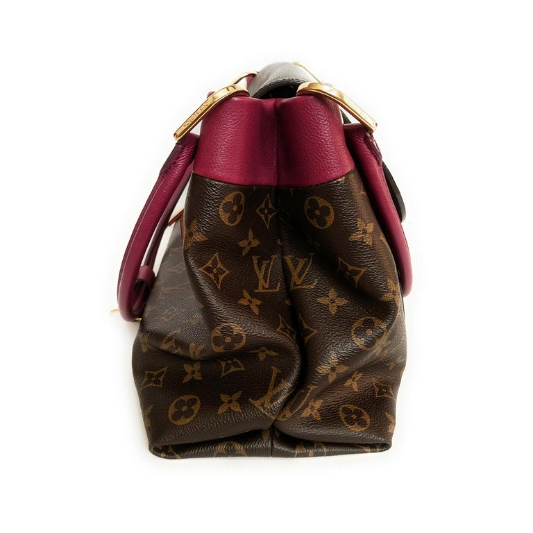 Women's Louis Vuitton Monogram Canvas Olympe MM Tote For Sale