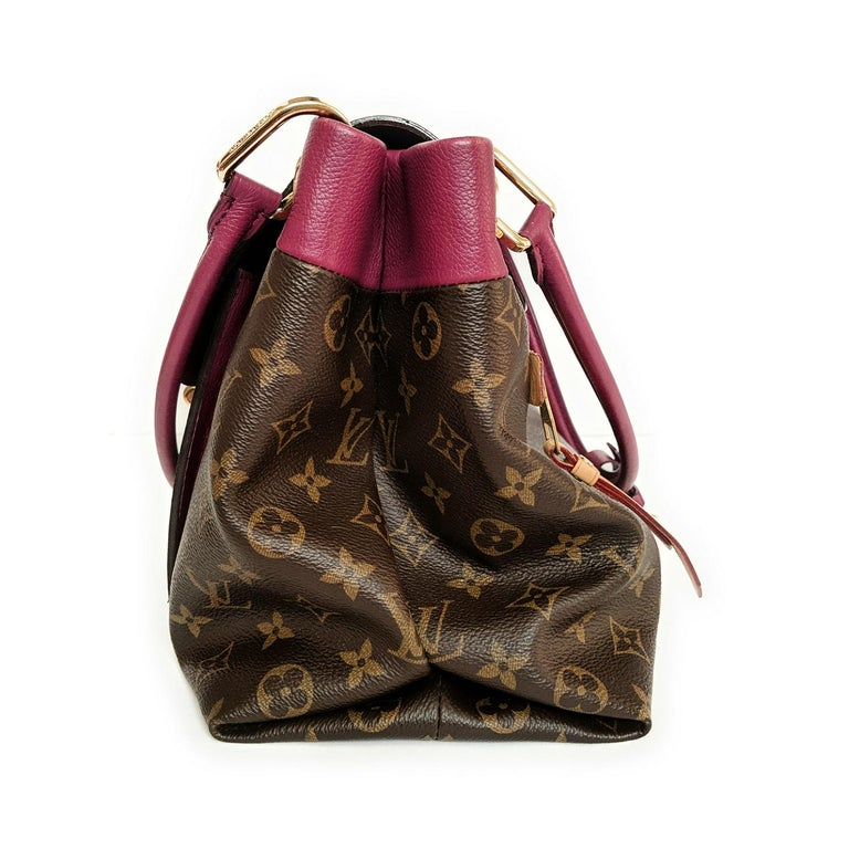 Louis Vuitton Monogram Canvas Olympe MM Tote For Sale 1