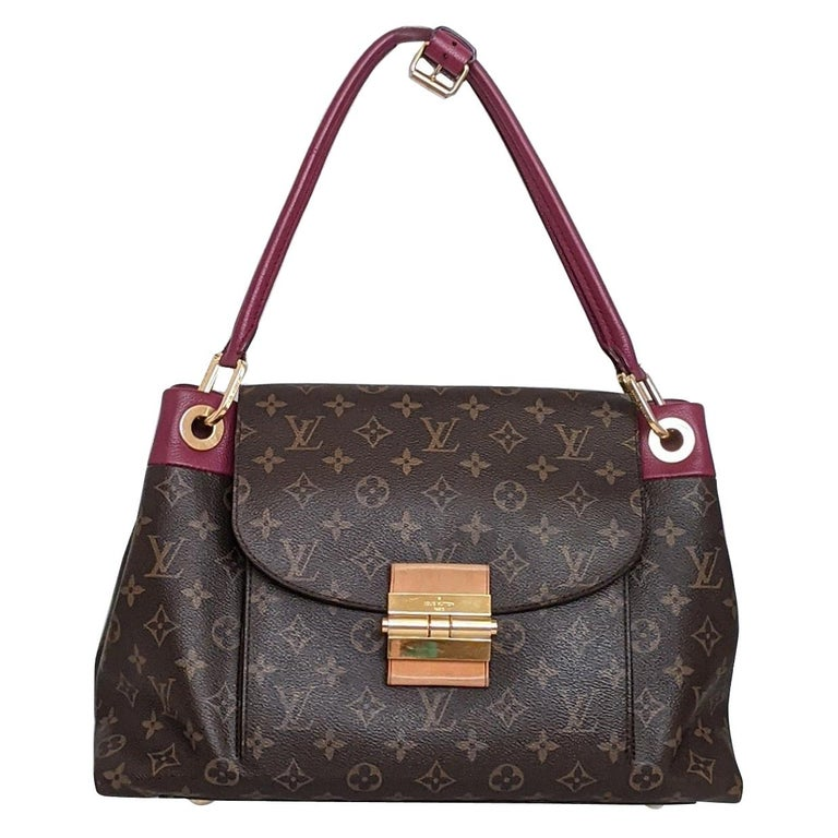 Louis Vuitton Monogram Canvas Olympe MM Tote For Sale