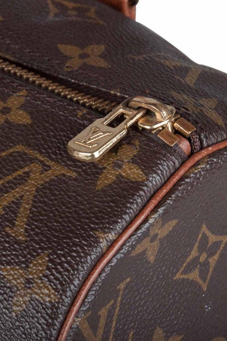 Louis Vuitton Monogram Canvas Papillon Bag In Fair Condition For Sale In Dubai, Al Qouz 2