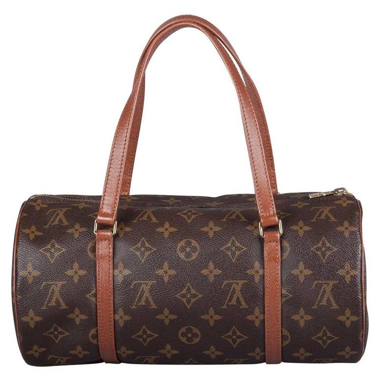 Louis Vuitton Monogram Canvas Papillon Bag For Sale