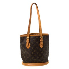 Louis Vuitton Monogram Canvas Petit Bucket Bag