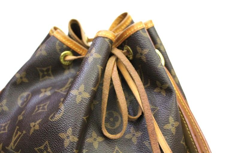 LOUIS VUITTON Monogram Canvas Petit Noe  Bag For Sale 1