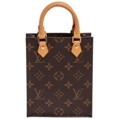 Louis Vuitton Monogram Canvas Petit Sac Plat Bag