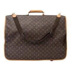 Louis Vuitton Monogram Canvas Portable Bandouliere Garment Bag