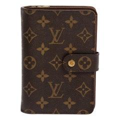 Louis Vuitton Monogram Canvas Porte Papier Zippe Wallet