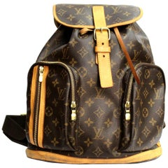 LOUIS VUITTON Monogram Canvas Sac a Dos Bosphore Backpack Bag
